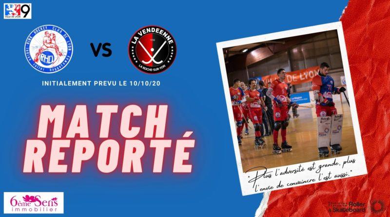 3ème Journée : Match reporté